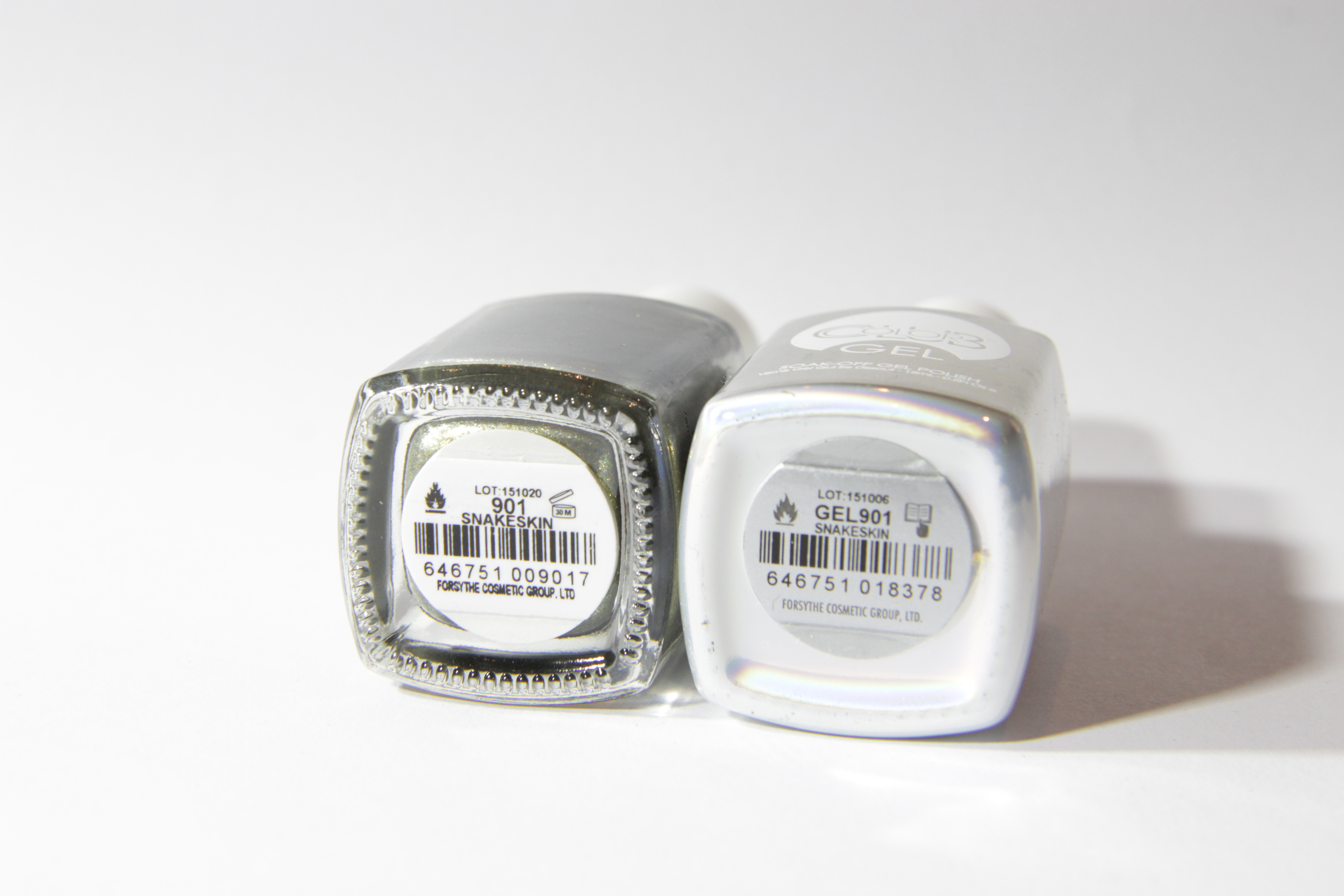 #0901 SNAKESKIN Color Club Duo Nagellack Nail Lacquer and Soak-Off Gel Polish