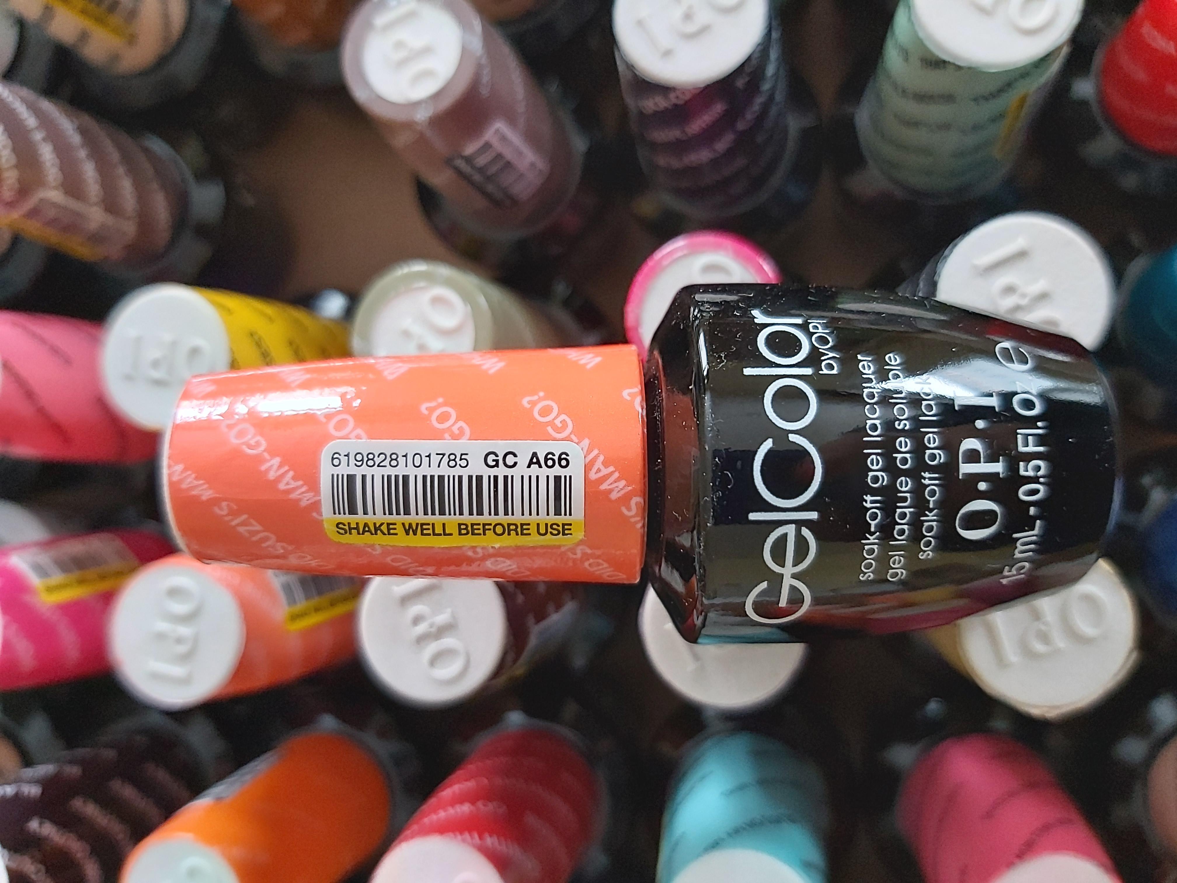 OPI Gel Color Soak-off Gel A66 WHERE DID SUZI'S MAN-GO orange mango