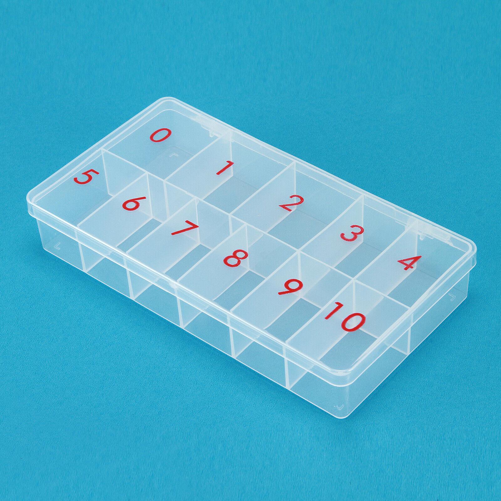 NagelTip Box Größe 0 -10 leer Kunstnagel Gel Acryl Nagelmodellage
