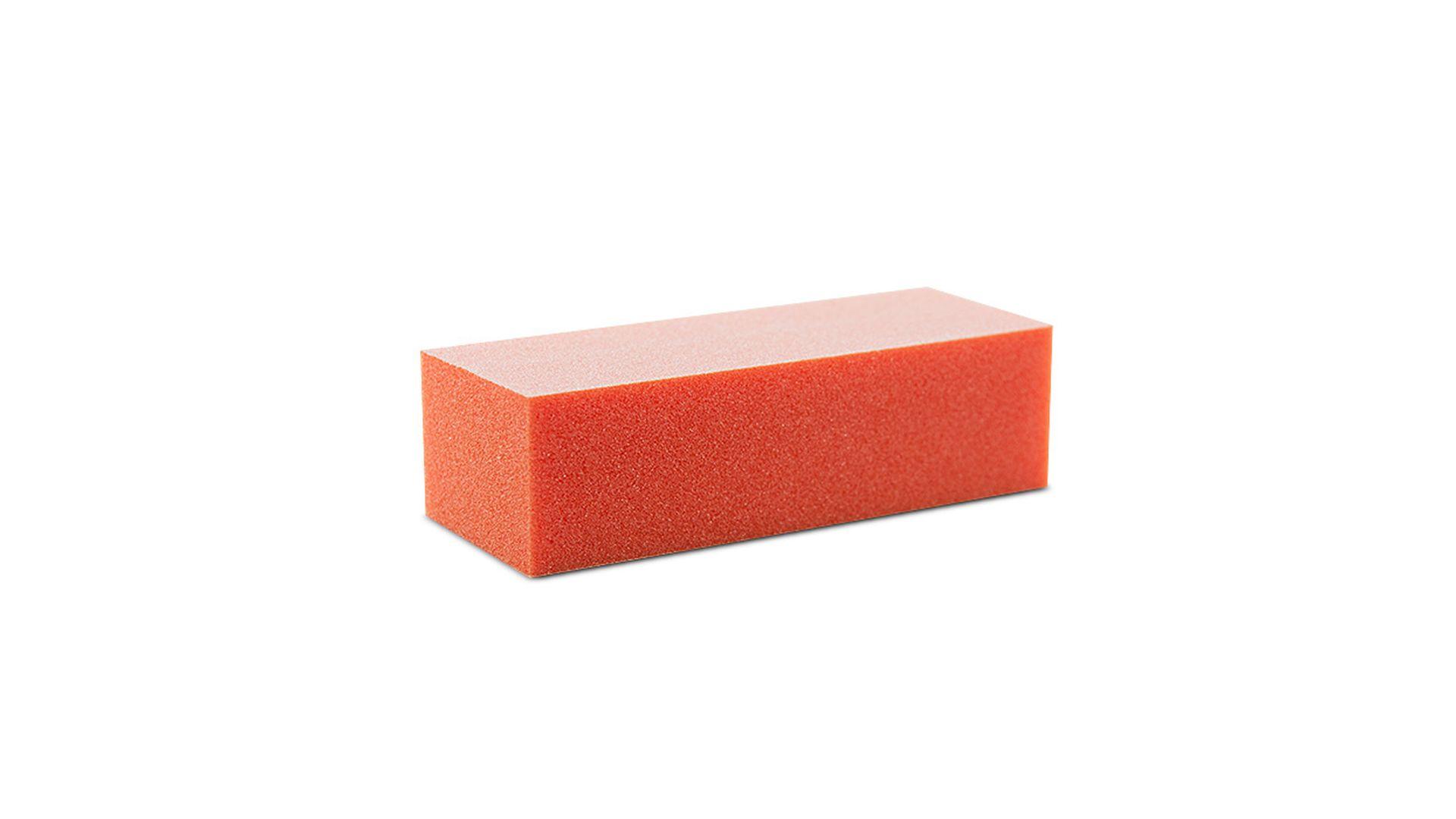 Buffer Schleifblock 500 Stk Premium 3 Seitig Körnung 100/100 weiß orange