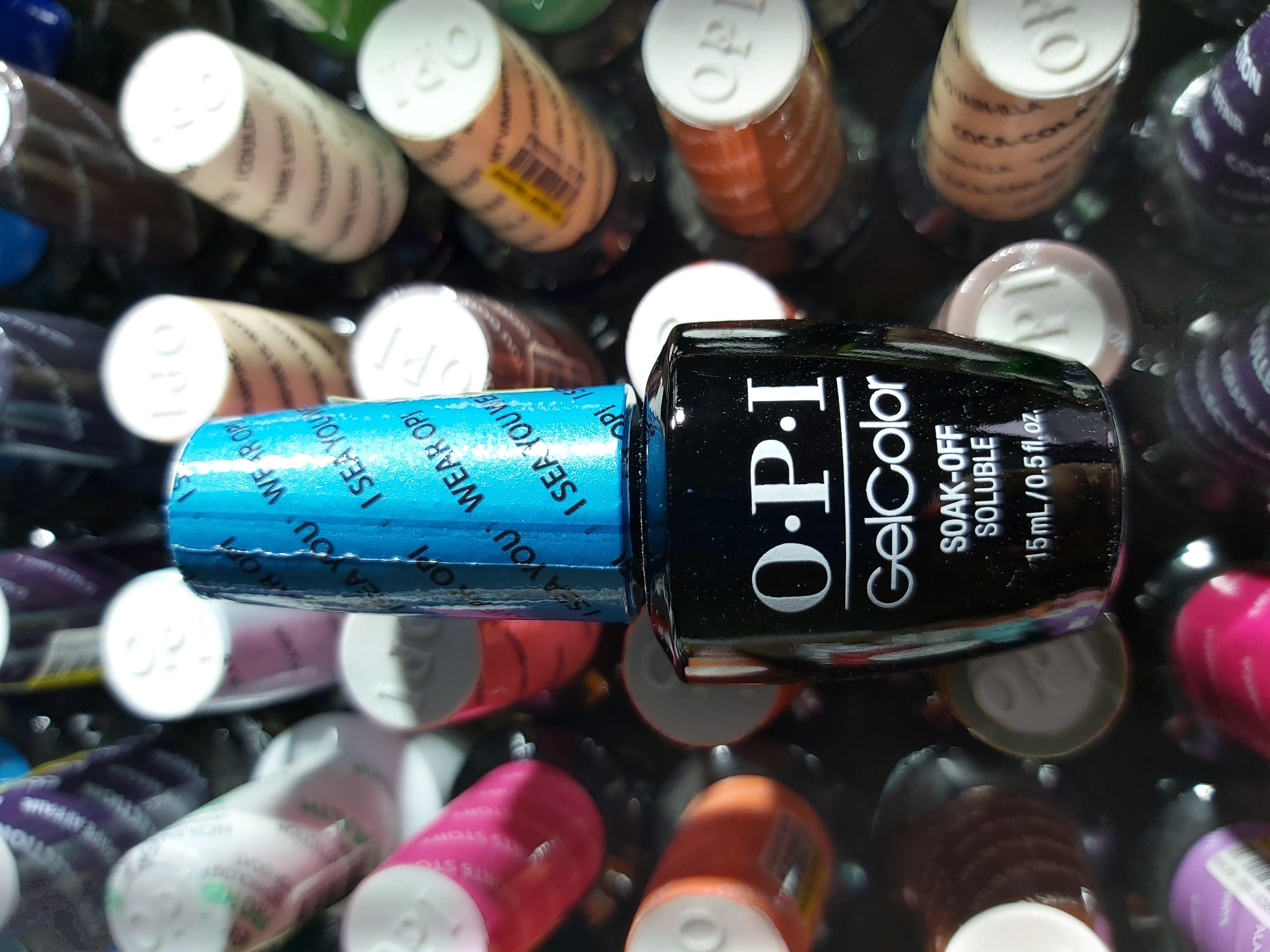 OPI Gel Color Soak-off Gel A73 I SEA YOU WEAR OPI Blau blue