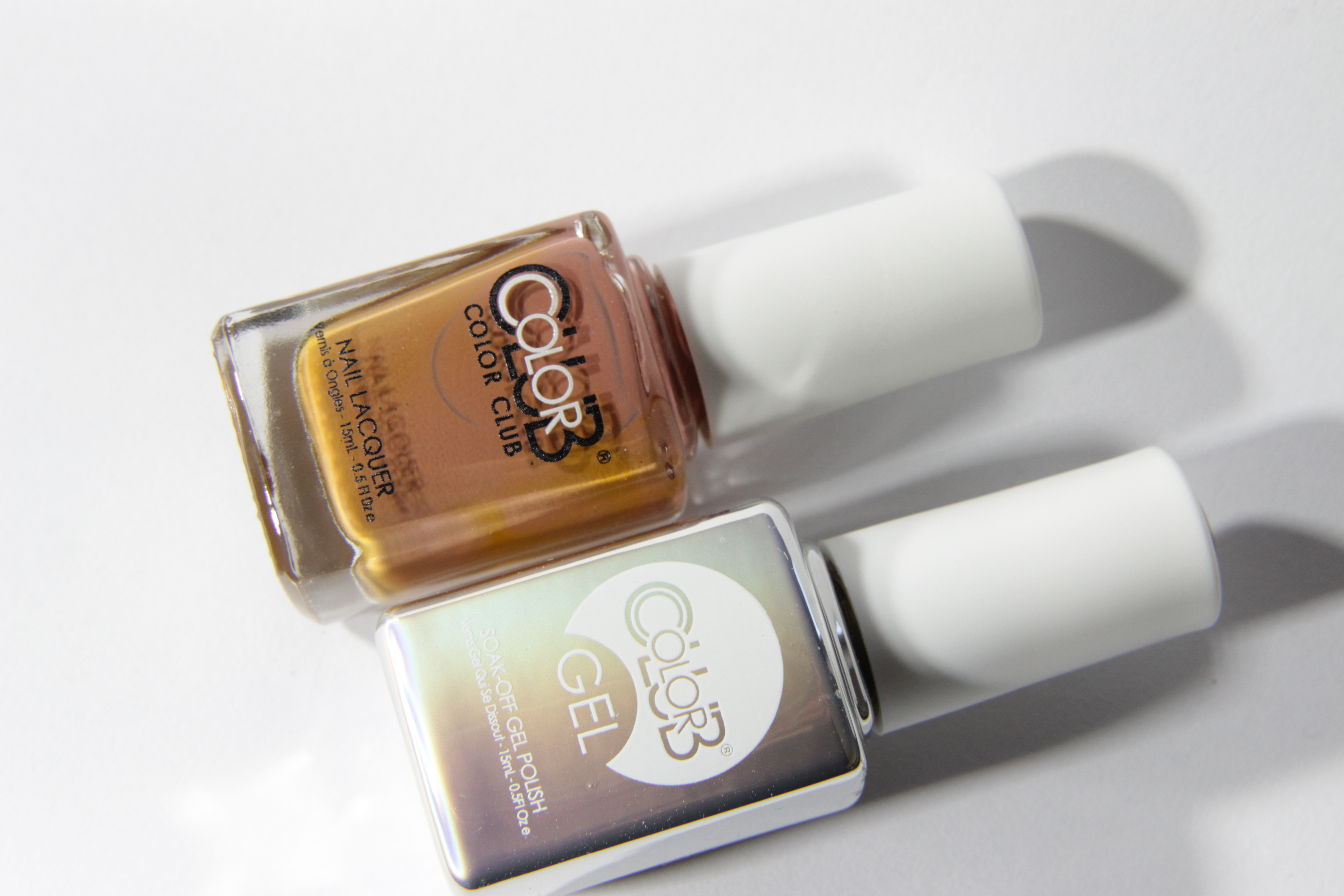 #0882 BEST DRESSED LIST Color Club Duo Nagellack Nail Lacquer and Soak-Off Gel Polish braun brown