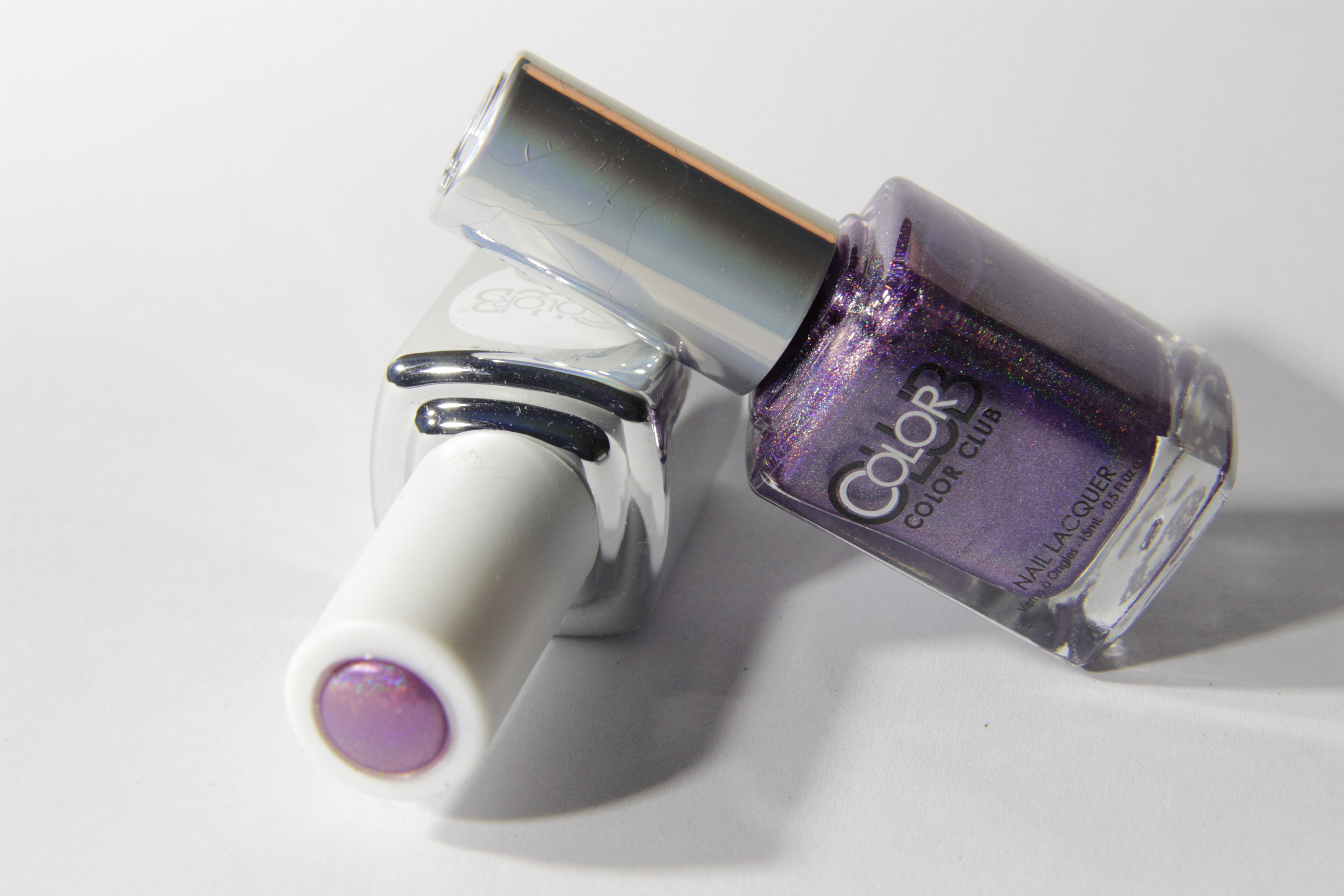 #0999 ETERNAL BEAUTY Color Club Duo Nagellack Nail Lacquer and Soak-Off Gel Polish Lila Chrom