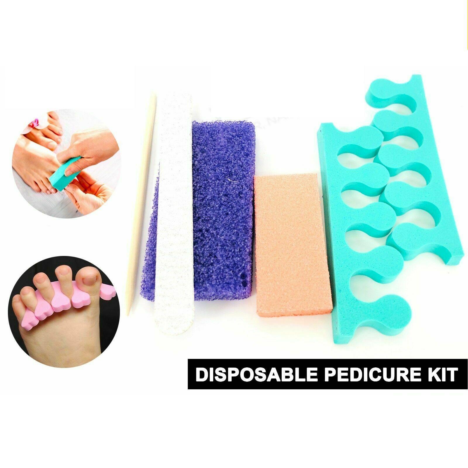 Pediküre Fusspflege Einweg Set Hygienisch verpackt