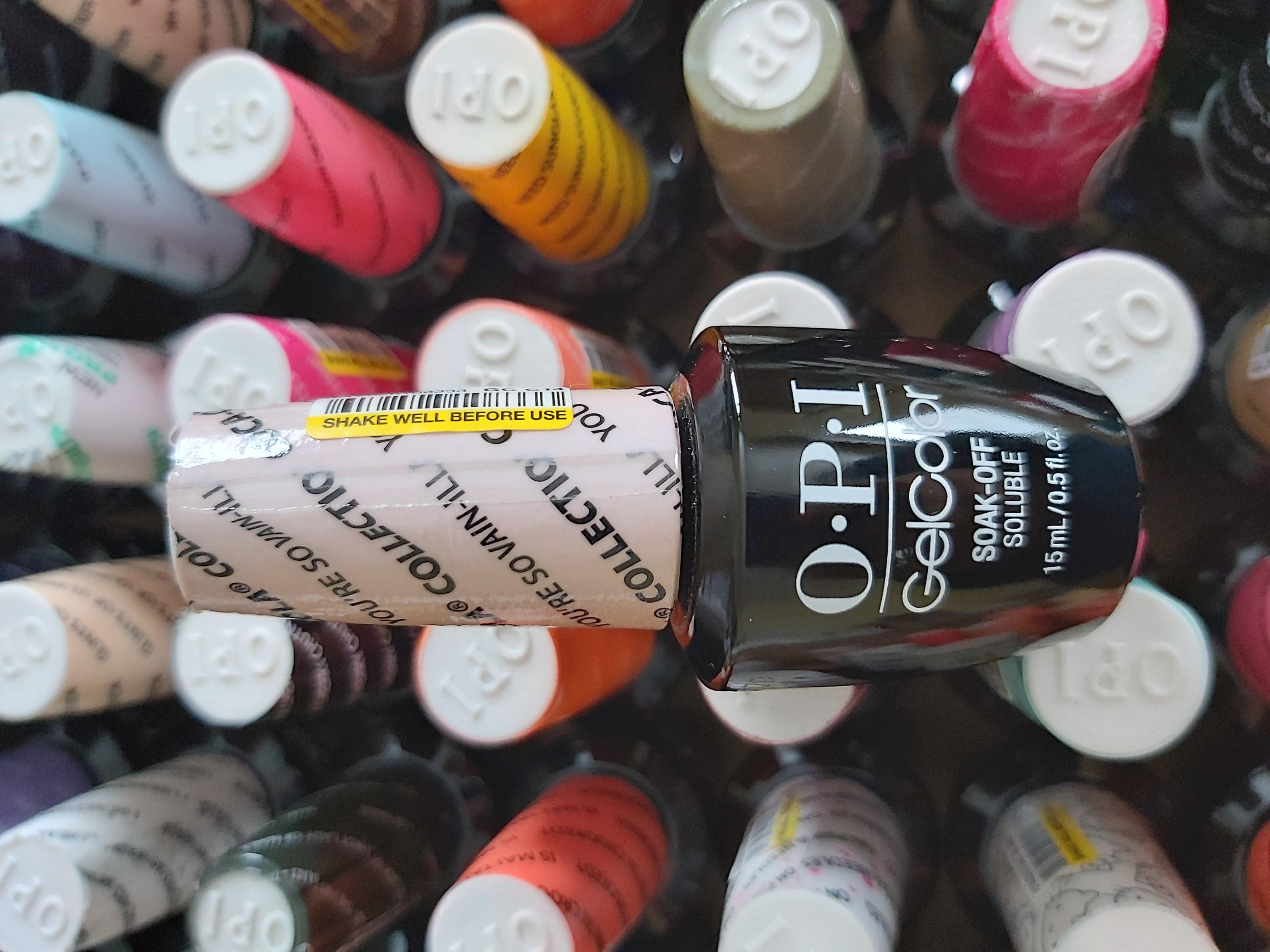 OPI Gel Color Soak-off Gel C14 YOU'RE SO VAIN-ILLA hautnah vanila