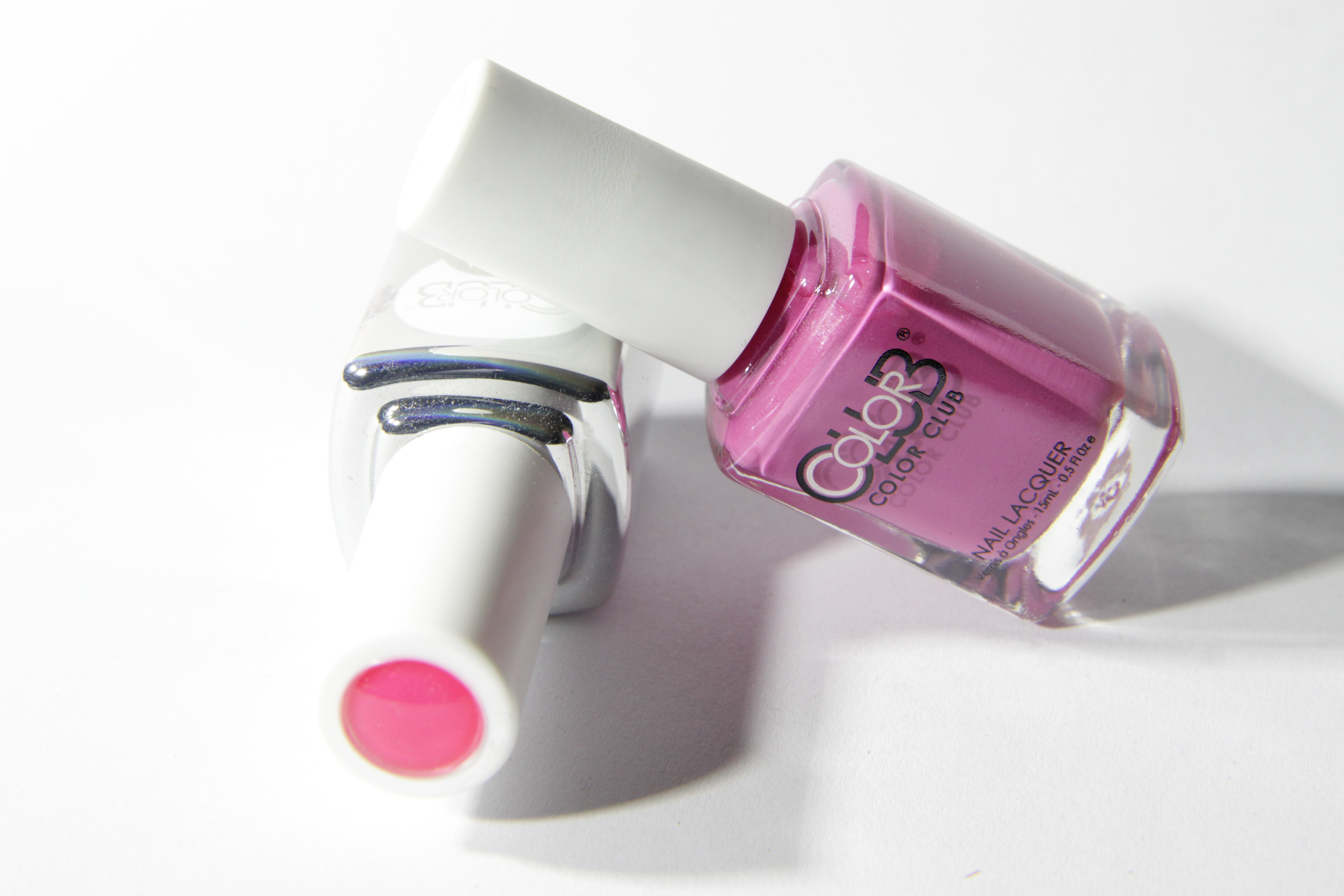 #0803 IN BLOOM Color Club Duo Nagellack Nail Lacquer and Soak-Off Gel Polish pink rosa