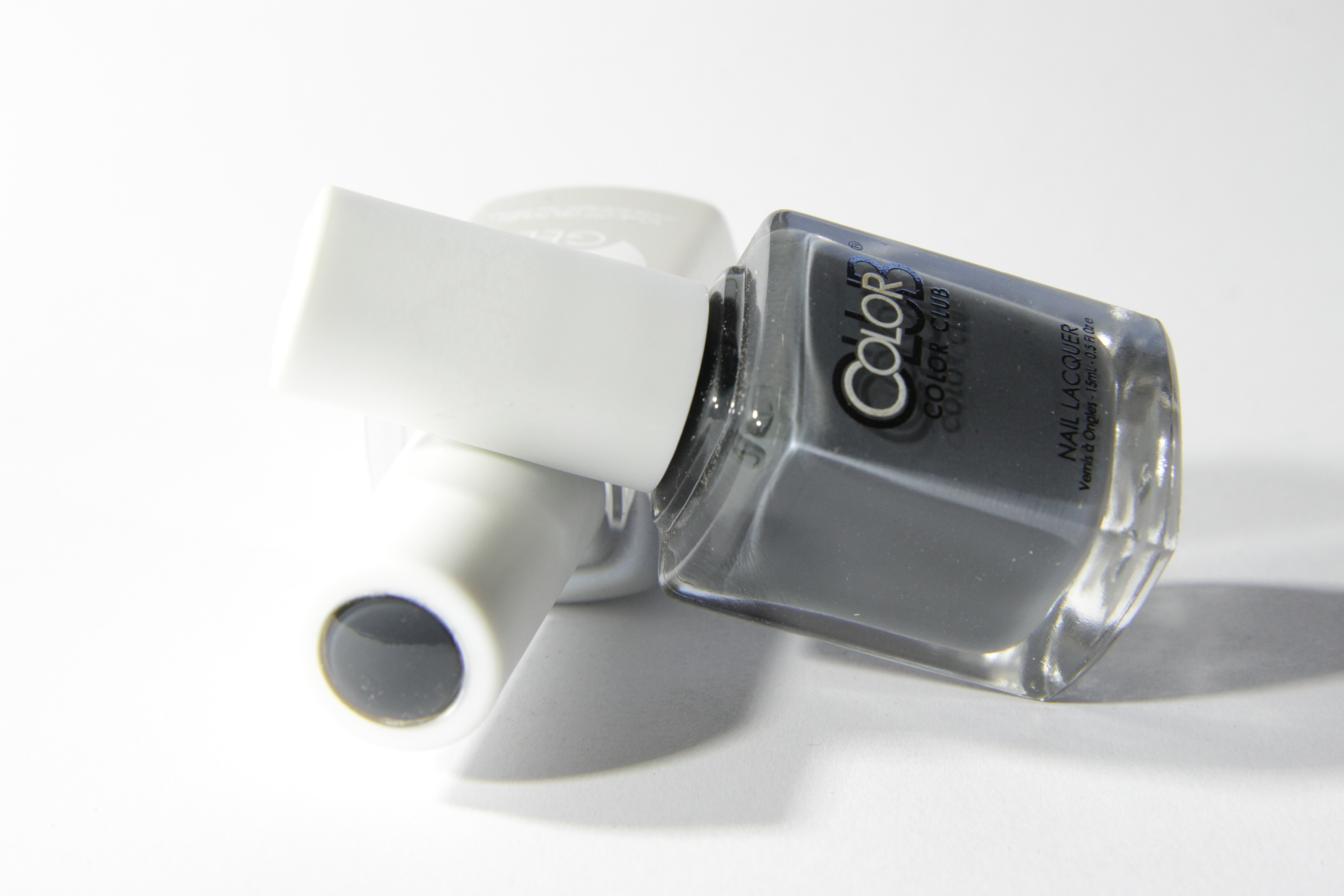 #0968 MUSE-ICAL Color Club Duo Nagellack Nail Lacquer and Soak-Off Gel Polish Anthrazit Grau grey