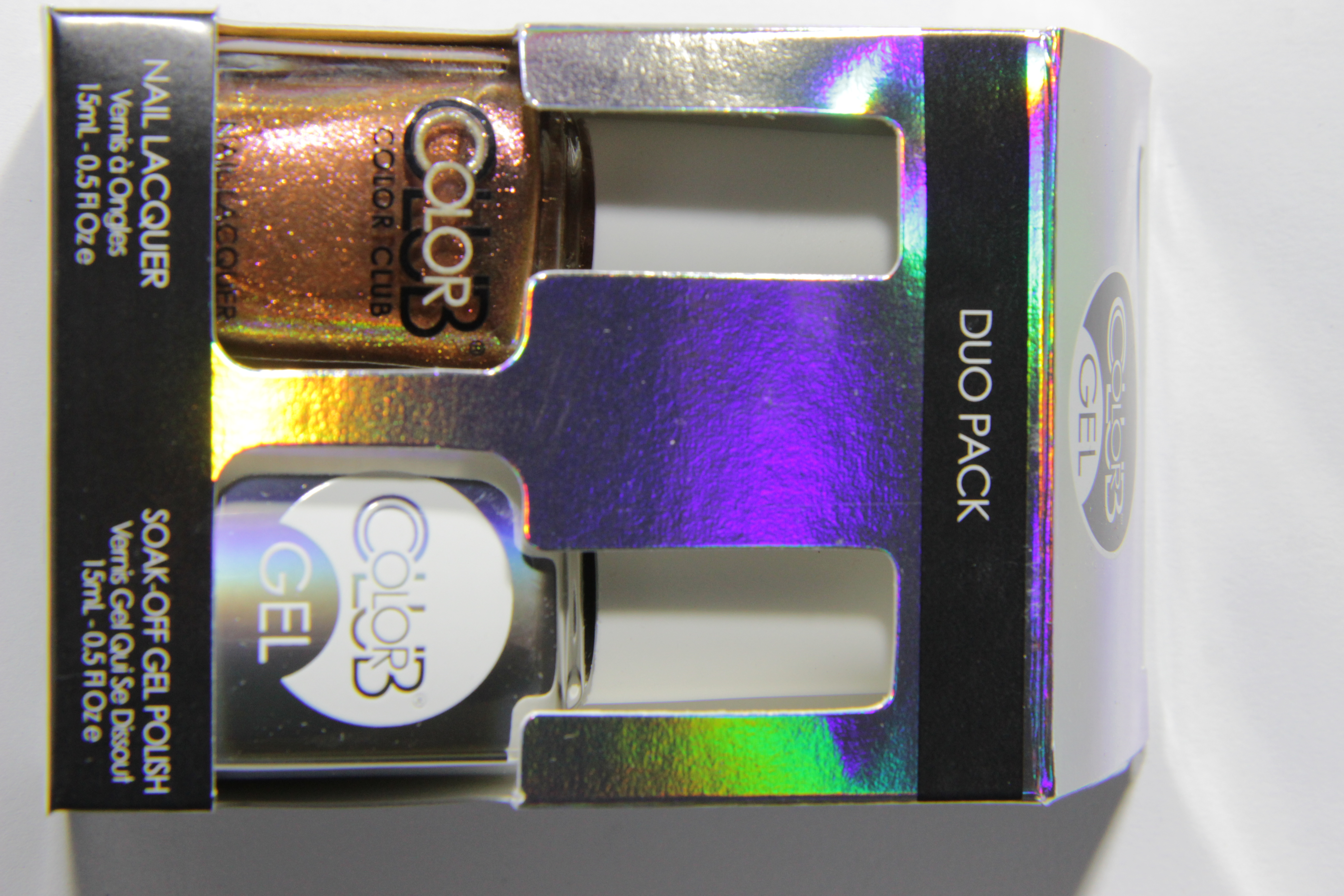 #0868 WILD AND WILLING Color Club Duo Nagellack Nail Lacquer and Soak-Off Gel Polish bronze