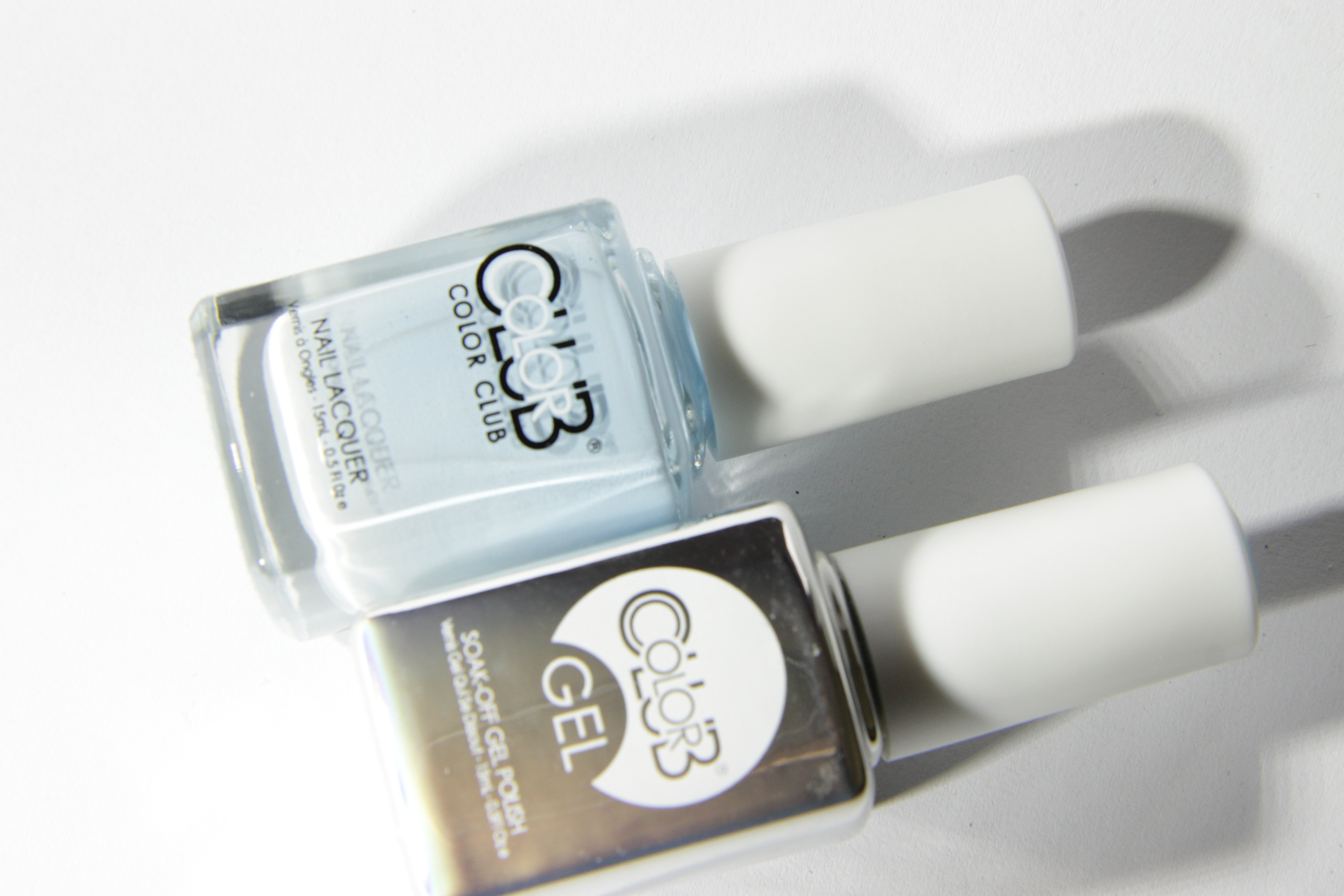 #0878 TAKE ME TO YOUR CHATEAU Color Club Duo Nagellack Nail Lacquer and Soak-Off Gel Polish hellblau blue
