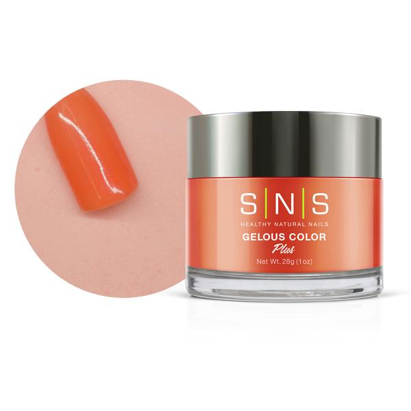 SNS #034 Gelous Dipping Powder 28g (1oz) Mandarin Orange