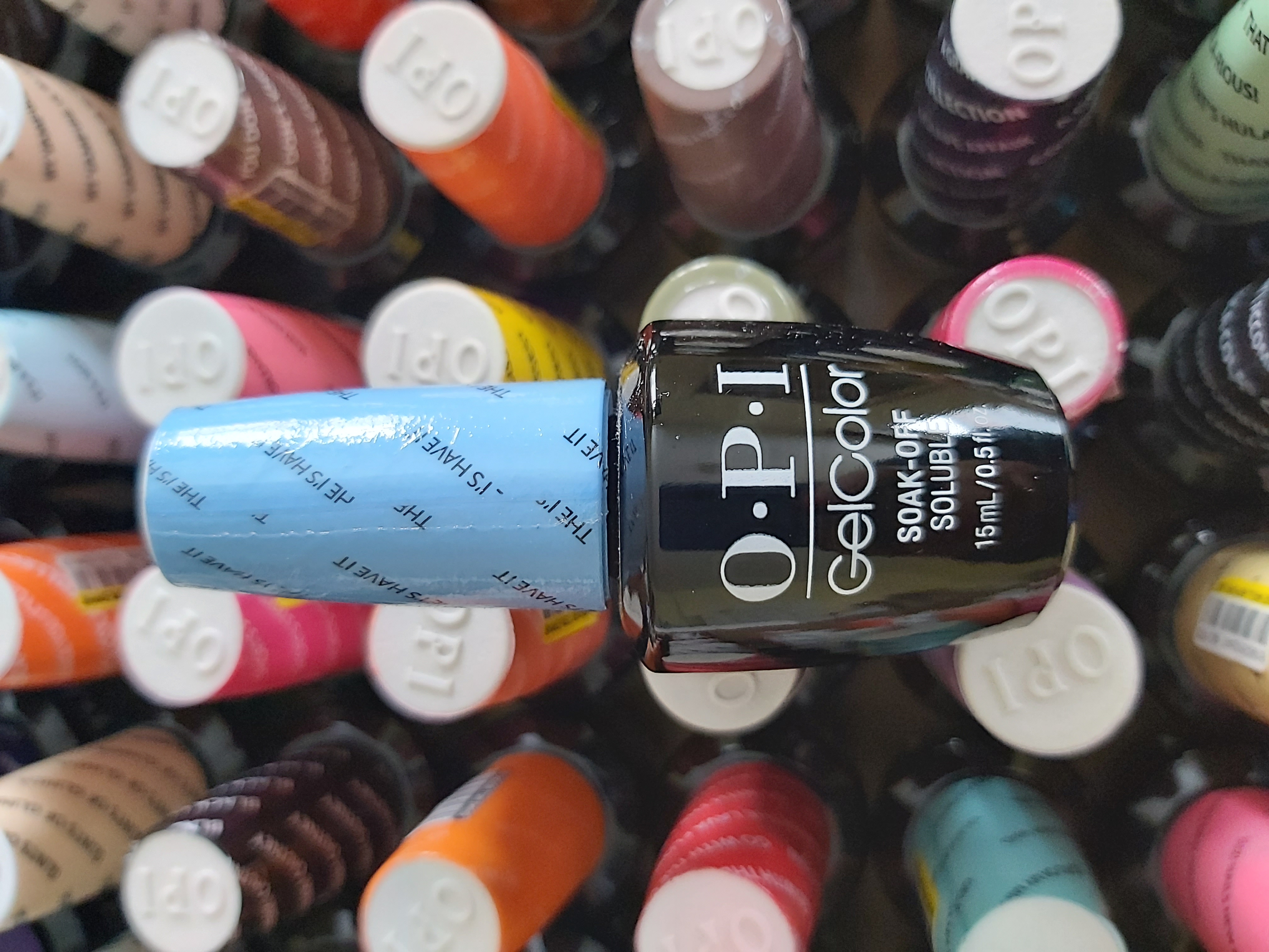 OPI Gel Color Soak-off Gel BA1 THE I'S HAVE IT