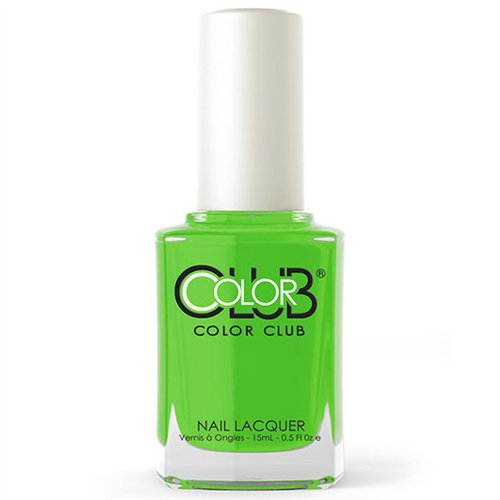 COLOR CLUB nail lacquer Nagellack Polish AN02 FEELING GROOVY Grün Green