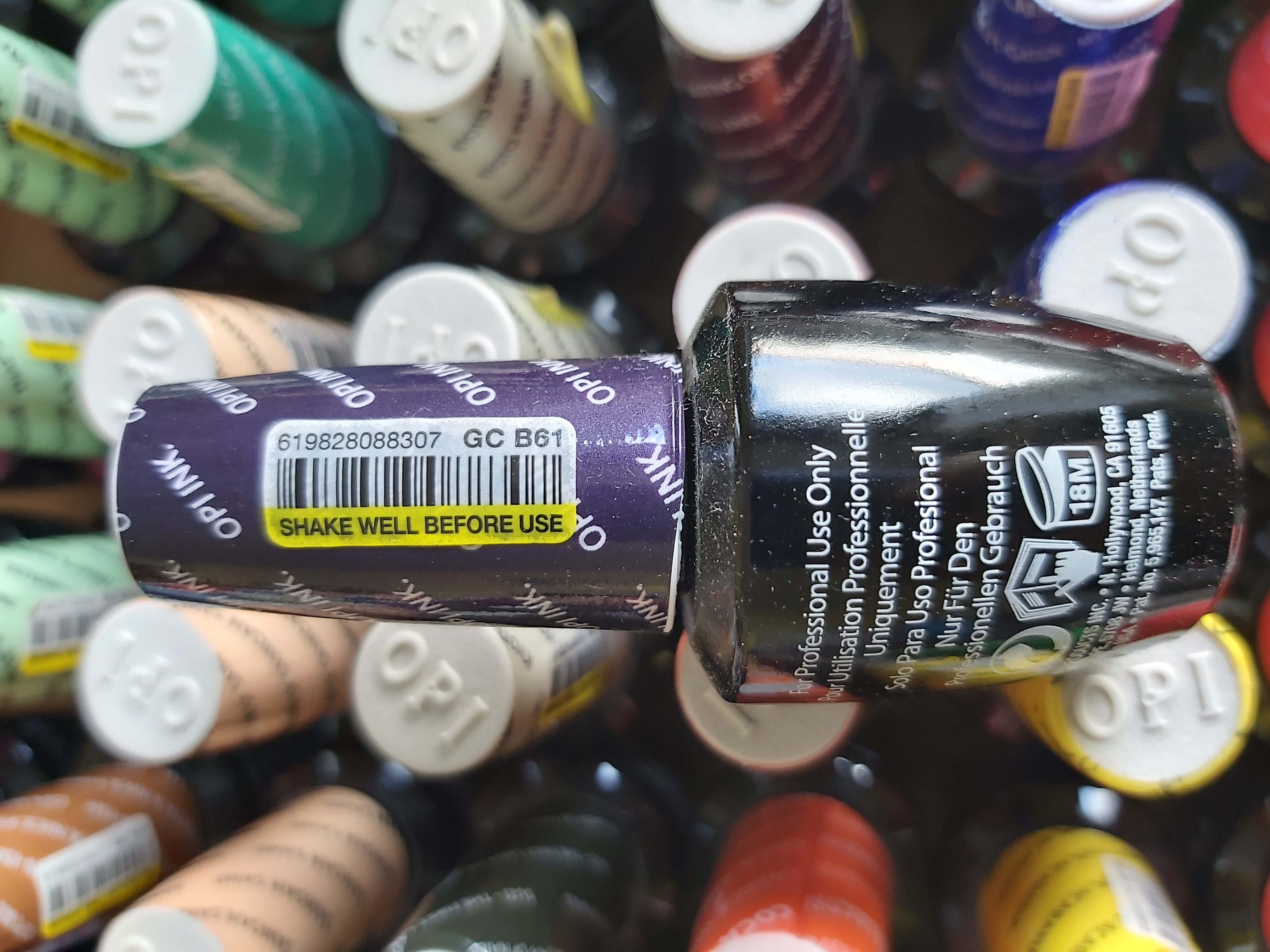 OPI Gel Color Soak-off Gel B61 OPI INK Violett
