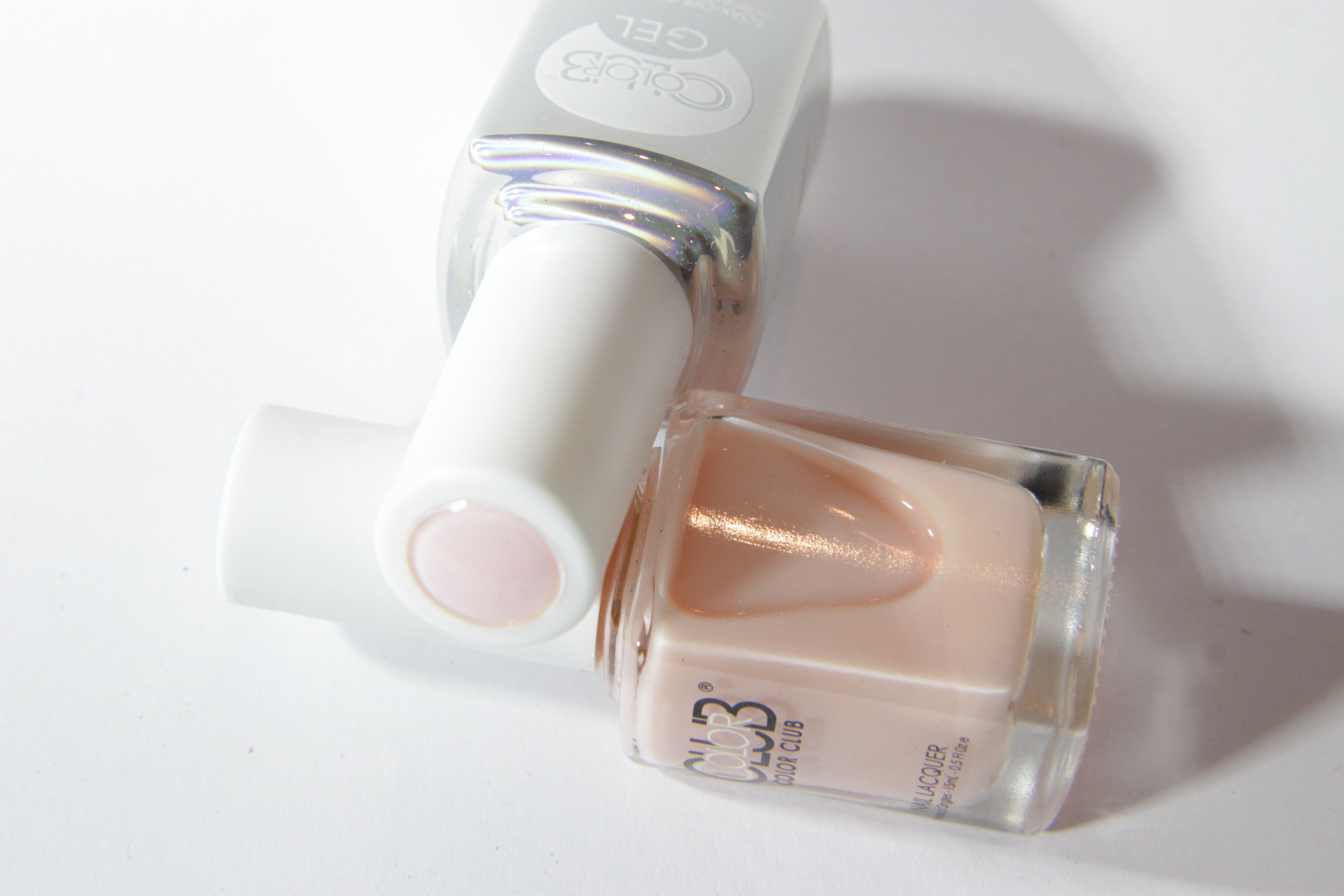 #0933 MORE AMOUR Color Club Duo Nagellack Nail Lacquer and Soak-Off Gel Polish nude hautnah rosa